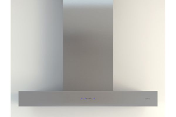 """Large image of Zephyr Essentials Collection Roma 30"""" Stainless Steel Chimney Wall Hood - ZROE30DS"""