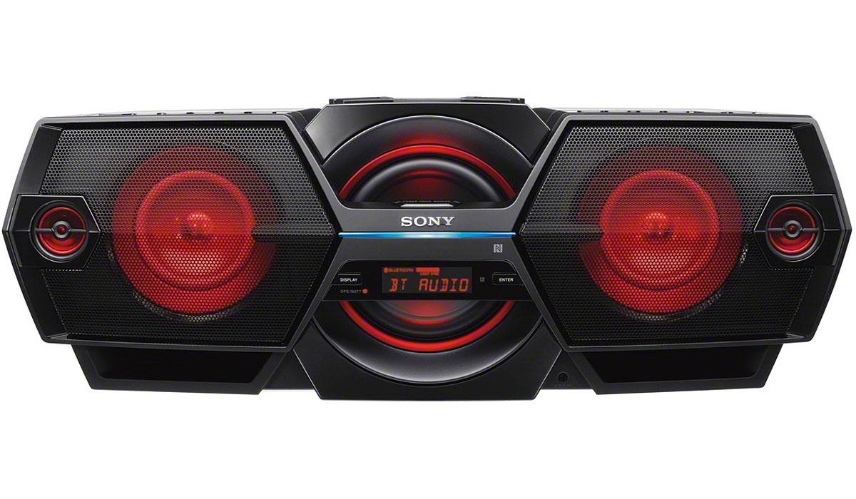 Sony Black Bluetooth Boombox Zsbtg900 Abt