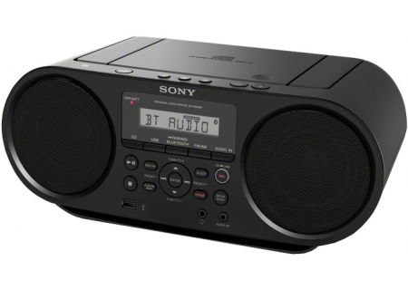 Sony - ZS-RS60BT - Boomboxes & Portable CD Players