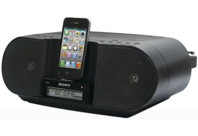 Sony - ZSS3IPBLACK - Boomboxes & Portable CD Players