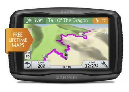 Garmin Zumo 595LM GPS Motorcycle Navigation System - 010-01603-00