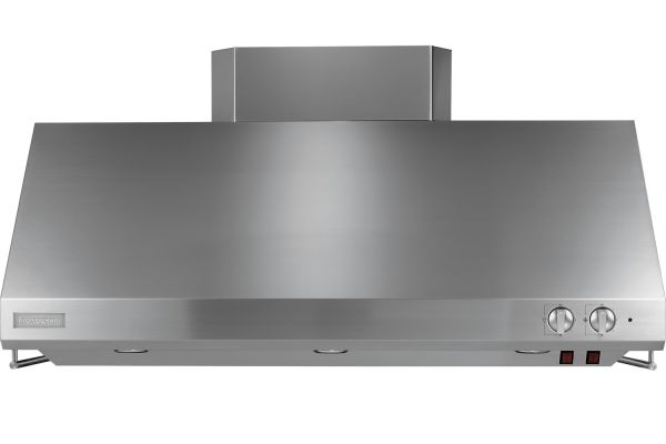 """Large image of Monogram 48"""" Stainless Steel Professional Wall Hood - ZV48SSJSS"""