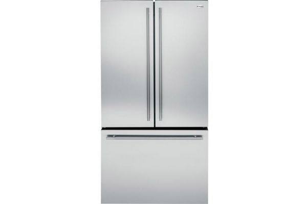 Monogram 23.1 Cu. Ft. Stainless Steel Counter-Depth French Door Bottom Freezer Refrigerator - ZWE23ESHSS