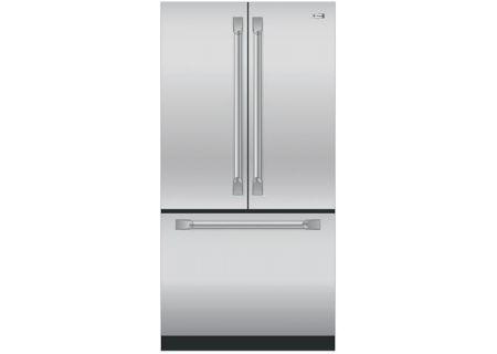 Monogram Stainless Steel French Door Refrigerator - ZWE23PSHSS
