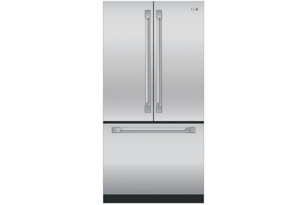 Monogram Stainless Steel French Door Refrigerator - ZWE23PSHSS