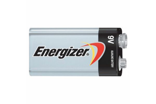 Energizer MAX 9 V Individual Alkaline Battery - 522VP