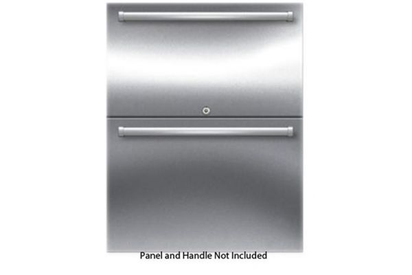 "Sub-Zero 24"" Outdoor Refrigerator Drawers - Panel Ready - ID24RO"