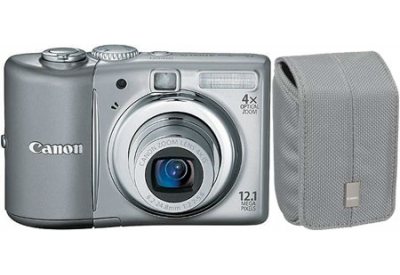 Canon - A1100ISGRAY KIT - Digital Cameras