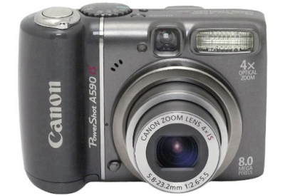 Canon - A590IS - Digital Cameras