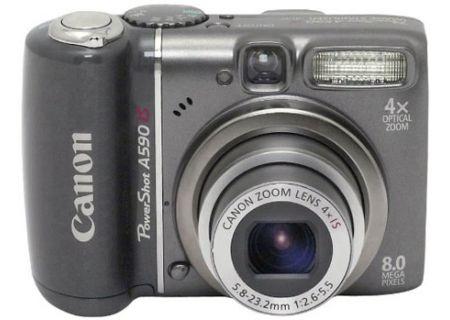 Canon - A590IS - Digital Cameras