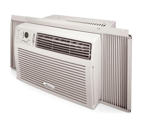 whirlpool 8000 btu window air conditioner acq088ps abt. Black Bedroom Furniture Sets. Home Design Ideas