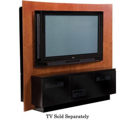 Bdi Alcove Series Cherry Flat Panel Tv Stand Alcove 8200