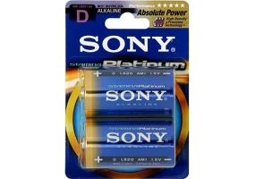 Sony - AM1PTB2A - Alkaline Batteries