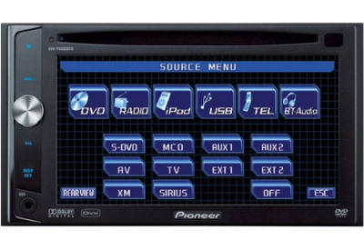 Pioneer - AVH-P4000DVD - Mobile Video