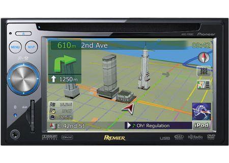 Pioneer - AVIC-F90BT - Portable GPS Navigation