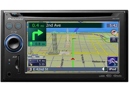 Pioneer - AVIC-X710BT - Portable GPS Navigation