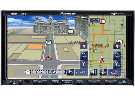 Pioneer - AVIC-Z3 - Portable GPS Navigation