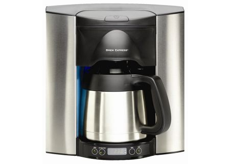 Brew Express Built-In 10 Cup Coffee Maker - BE110BS