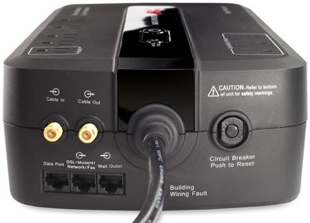 Apc Back Ups Es 750va Black Surge Protector Be750g