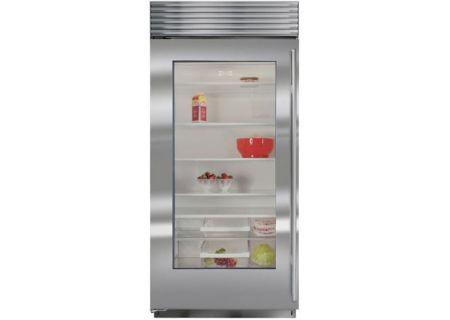 Sub-Zero - BI-36RG/S/TH-LH - Built-In Full Refrigerators / Freezers