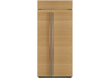"Sub-Zero 36"" Panel Ready Built-In Side-By-Side Refrigerator - BI-36S/O"