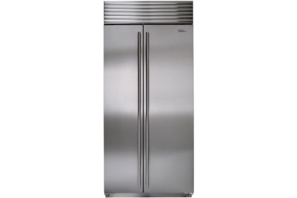 "Sub-Zero 36"" Stainless Steel Built-In Side-By-Side Refrigerator - BI-36S/S/TH"