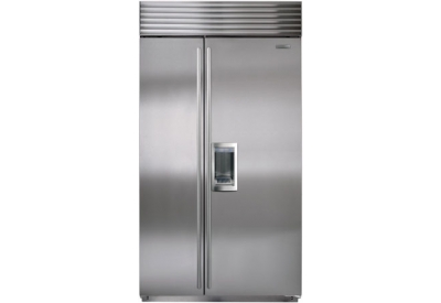 Sub-Zero - BI-42SD/S/TH - Built-In Side-By-Side Refrigerators