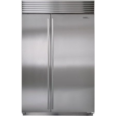 Sub Zero 48 Stainless Steel Built In Side By Refrigerator