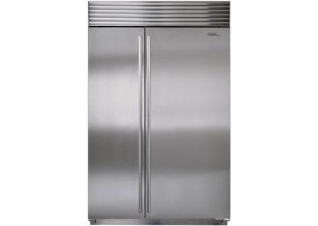 Sub-Zero - BI-48S/S/TH - Built-In Side-by-Side Refrigerators