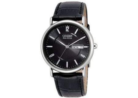 Citizen Eco-Drive Black Dial Mens Watch - BM8240-03E