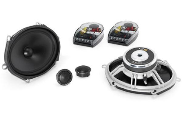 Large image of JL Audio Black 2-Way Component System Speakers (Pair) - 99102