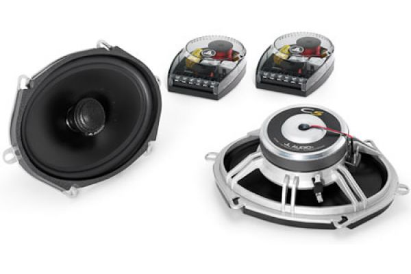 "Large image of JL Audio Evolution C5 5 x 7"" Black Coaxial Speakers (Pair) - 99103"