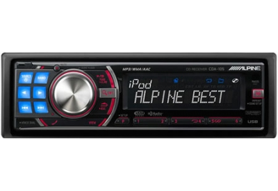 Alpine - CDA-105 - Car Stereos - Single Din