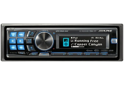 Alpine - CDA-117 - Car Stereos - Single Din