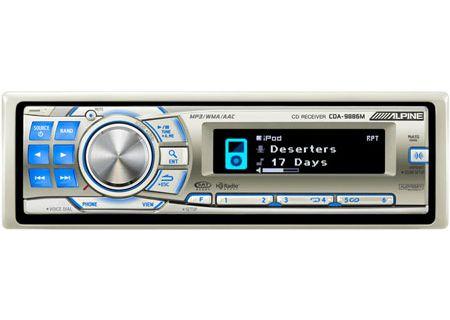 Alpine - CDA-9886M - Marine Radio