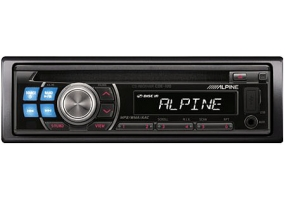 Alpine - CDE-100 - Car Stereos - Single Din