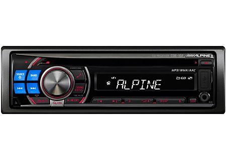 Alpine - CDE-102 - Car Stereos - Single DIN