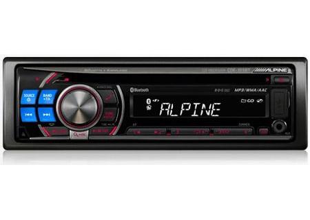 Alpine Single Din Cd Receiver Cde 103bt Abt