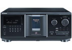 Sony - CDP-CX355 - CD Players and Recorders