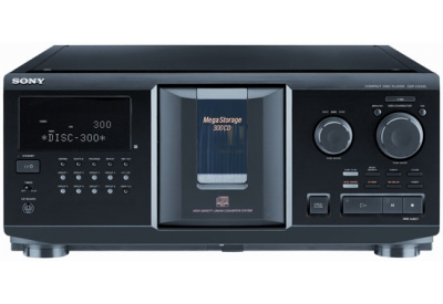 Sony - CDP-CX355 - CD Players