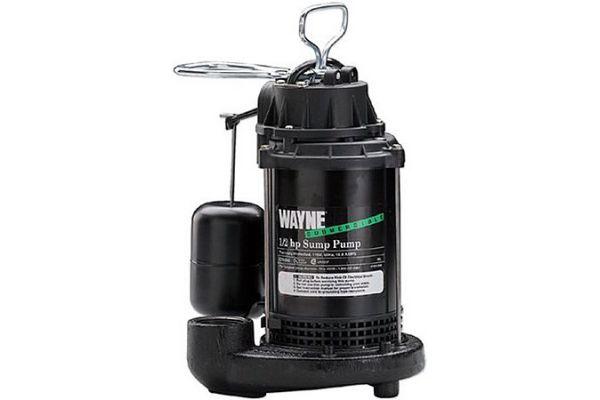 Large image of Wayne 1/2 HP Submersible Sump Pump - 56270-WYN3