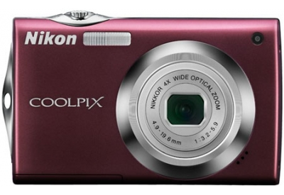 Nikon - COOLPIX S4000PLUM - Digital Cameras
