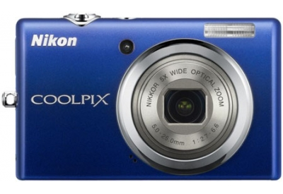 Nikon - COOLPIX S570BLUE - Digital Cameras