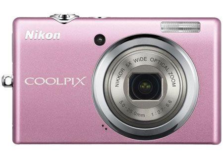Nikon - COOLPIX S570PINK - Digital Cameras