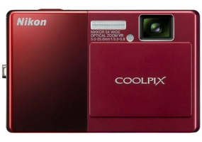 Nikon - COOLPIX S70 RED - Digital Cameras