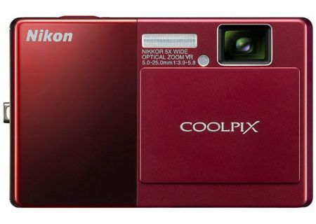Nikon - COOLPIX S70 RED - Digital Cameras