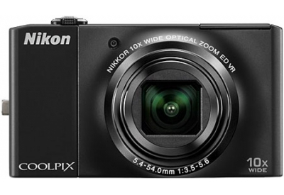 Nikon - COOLPIX S8000B - Digital Cameras