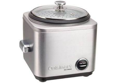 Cuisinart 8-Cup Rice Cooker Brushed Stainless - CRC-800