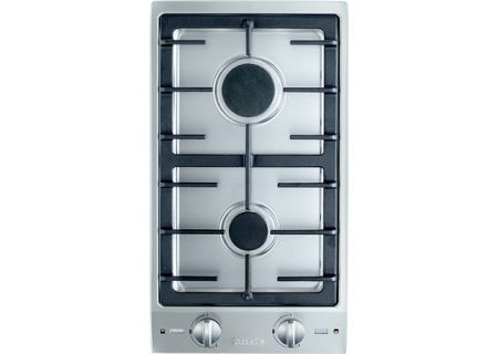 "Miele 12"" Natural Gas Double Stainless Steel Burner - CS1012"