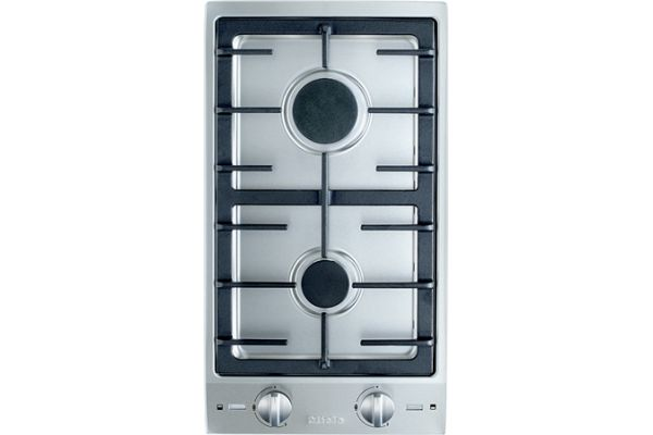 "Large image of Miele 12"" Natural Gas Double Stainless Steel Burner - 09026740"